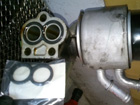 ジャガー XJ X350 XJR エンジンオイル漏れ修理