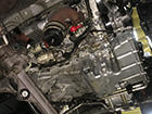 ジャガー Sタイプ オイル漏れ修理