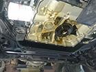 ジャガーXJX308エンジンオイル漏れ修理