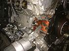 ジャガーXJ X351 エンジン冷却水漏れ