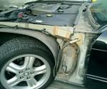 ジャガーXJR 事故修理