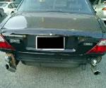 ジャガーXJR ドライバーの乗車するキャビンは無事