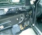 ジャガーX308 車対車の事故