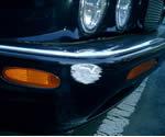 ジャガー フロントバンパー板金塗装