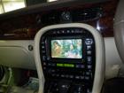 ジャガー XJ X350 地デジ、バックカメラ取付け作業