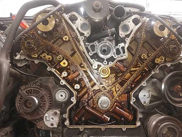 ジャガー X308 XJR エンジン異音
