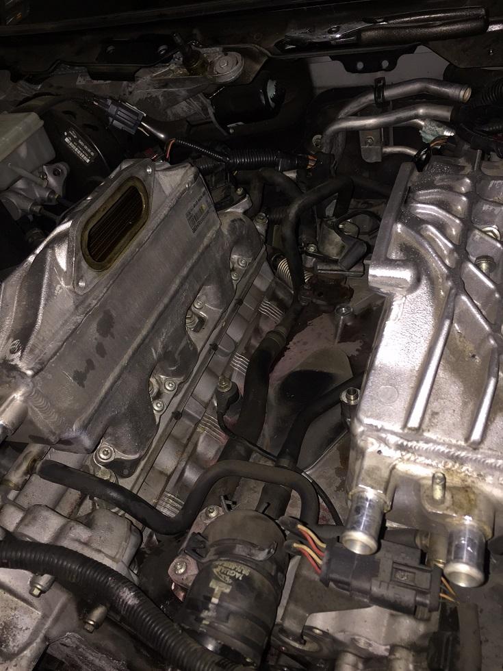 ジャガー XJ X358 オーバーヒート修理